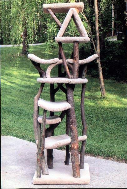 Rustic cat tree furniture