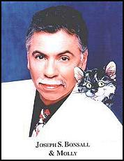 Joseph S. Bonsall Jr. of the Oak Ridge Boys, and his beloved Molly the Cat
